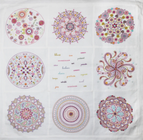 Embroidery Mandala Complete Kit