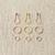 Coco Knits Precious Metal Markers
