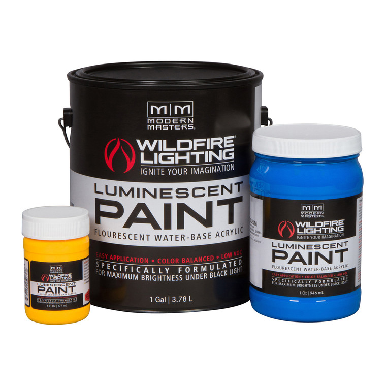 Visible Luminescent Paint
