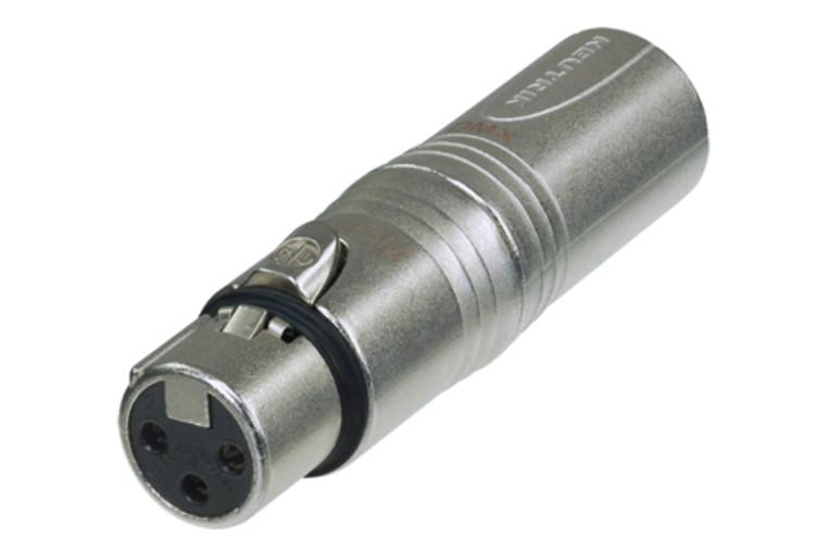 DMX Adapter, 5 Pin M XLR to 3 Pin F XLR