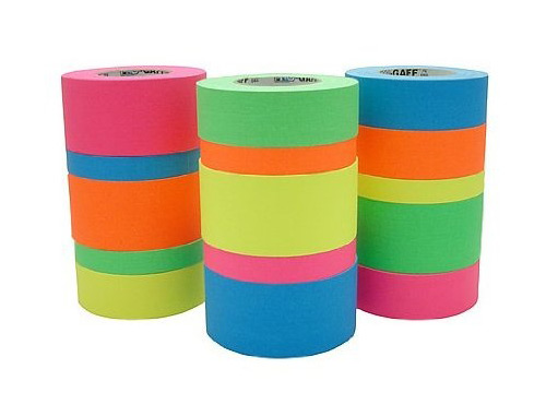 Fluorescent Cloth Gaffer Tape