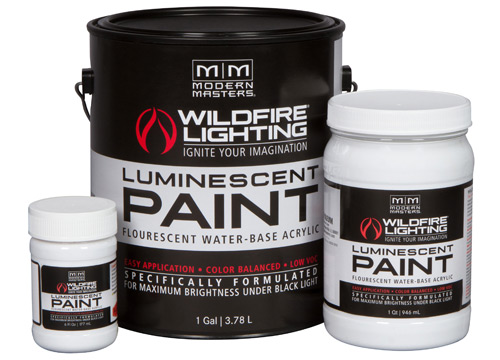 Wildfire Invisible Luminescent Paints