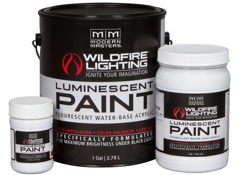 Phosphorescent Paints