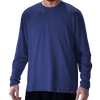 Relaxed Fit Tri-Blend Long Sleeve Tee