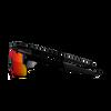 Youth Shield Performance Sunglasses - Black Translucent