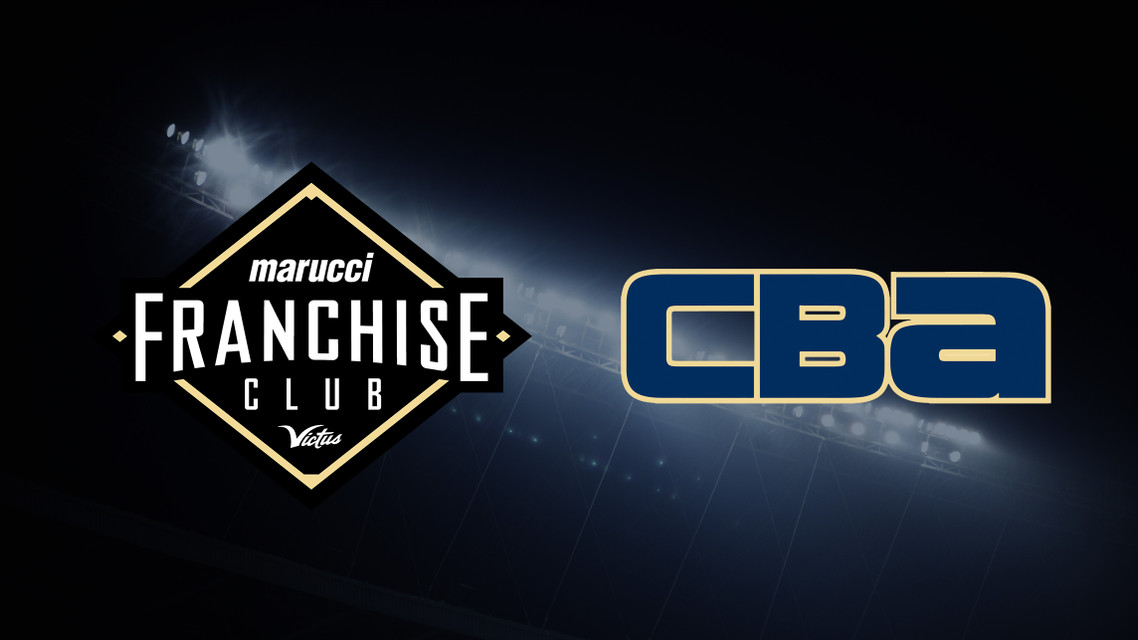 CBA Inks Deal as Marucci Sports' Inaugural Team in Franchise Club