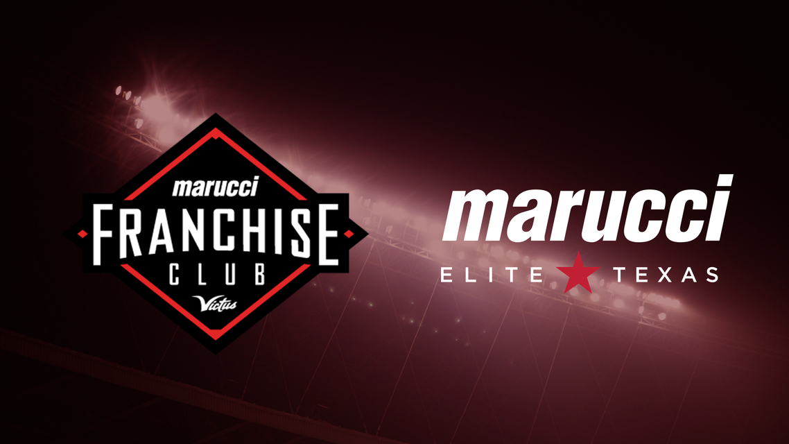Marucci Elite TX Solidifies Relationship with Franchise Club Commitment