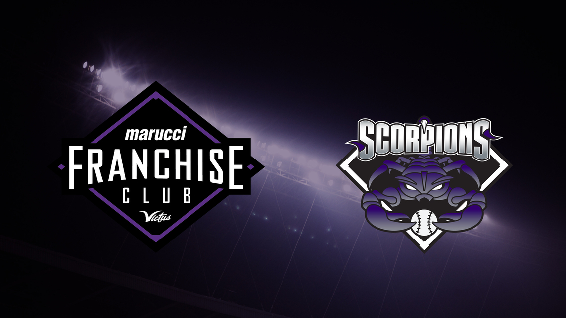 Scorpions Baseball Club Deepens Their Commitment to Marucci Sports