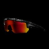 Shield Performance Sunglasses - Black Translucent