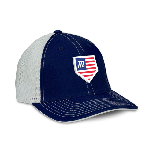 USA Home Plate Snapback Hat