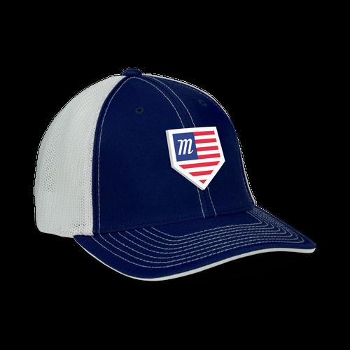 USA Home Plate Snapback Hat