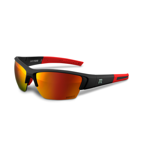 MV108 Performance Sunglasses - Matte Black