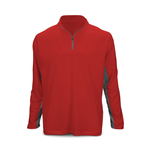 Youth Long Sleeve 1/4 Zip Performance Top