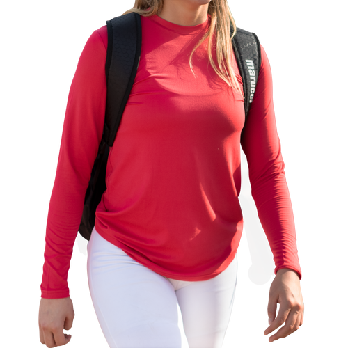 Women's Relaxed Long Sleeve Performance Top