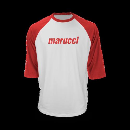 Marucci Branded 3/4 Sleeve Performance Tee