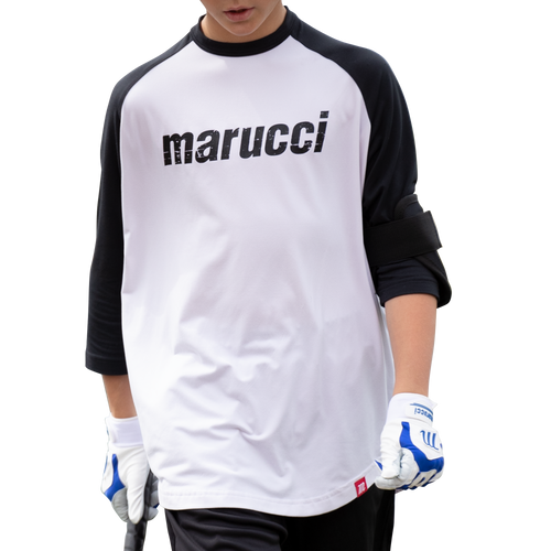Youth Marucci Branded 3/4 Sleeve Performance Tee