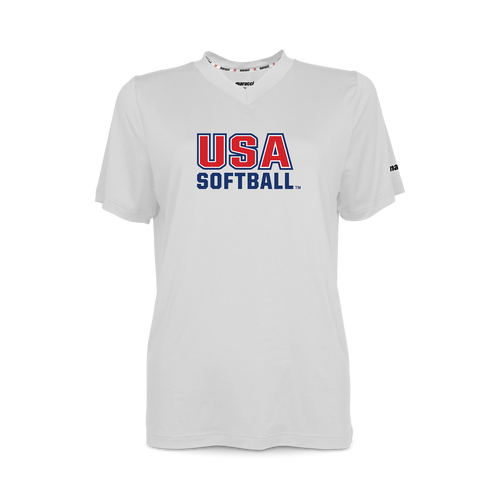 USA Softball Youth V-Neck