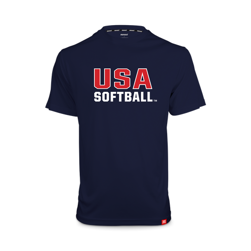 USA Softball Youth Performance Tee