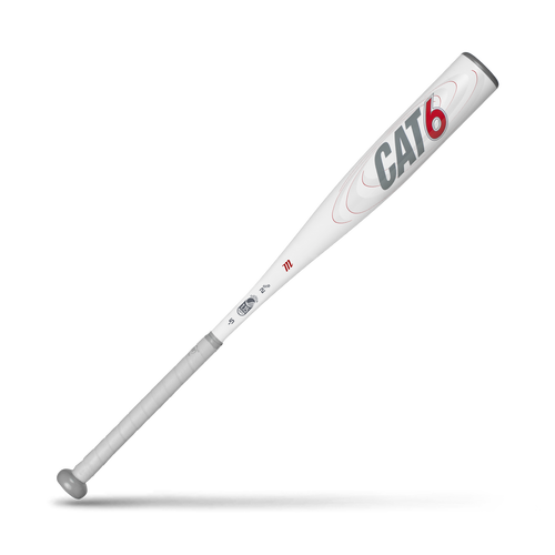 Built to deliver explosive pop with balanced control, the CAT6 provides the consistent performance you crave. The extended barrel's wall thickness has been optimized for a balanced feel, resulting in faster swing speeds and greater control over a larger sweet spot. A Big League-inspired tapered handle gives you the power to harness that control in your grip, so you can mash with absolute confidence.