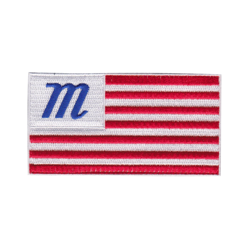 The Marucci Flag Patch can be used to personalize your Marucci Bat Pack.