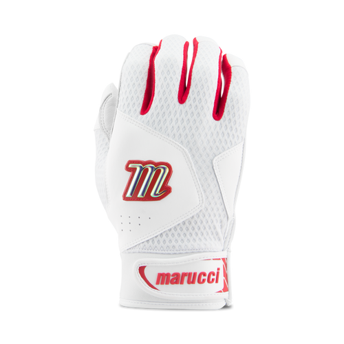 new Worth Team Batting Gloves RED//WHITE//BLUE extra LARGE