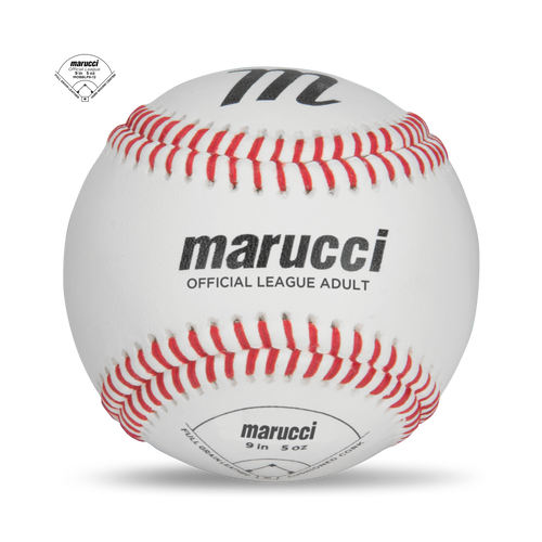 Adult Official League Game Baseball - 12 Pack