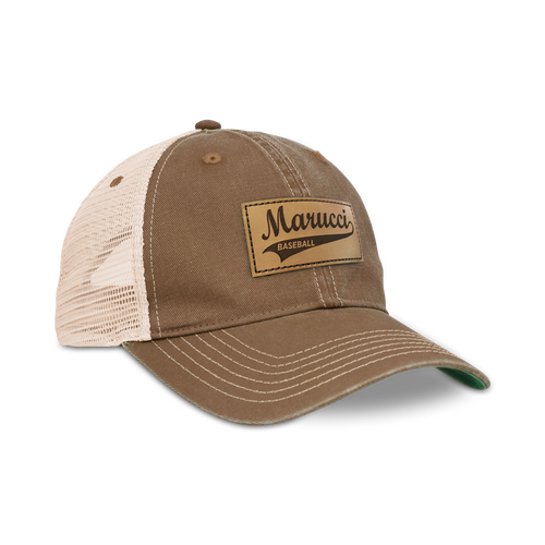 Classic Leather Patch Trucker Hat