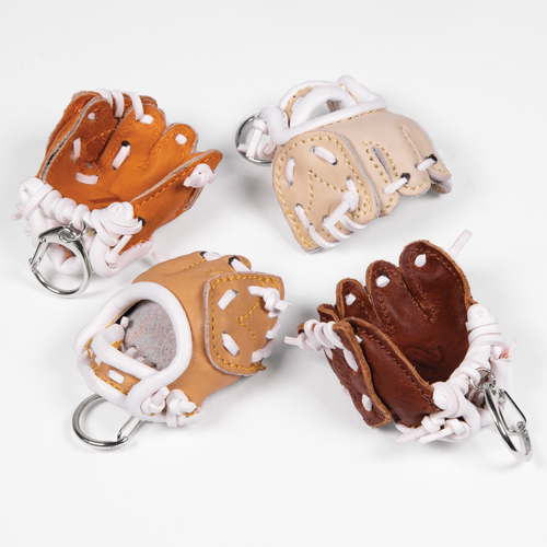 Fielding Glove Keychain