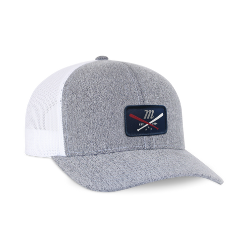 'Bats & Stars' Patch Trucker Hat