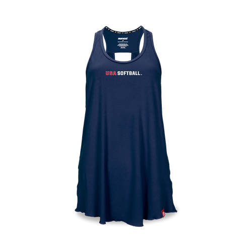 Women's USA Softball Keyhole Tank
