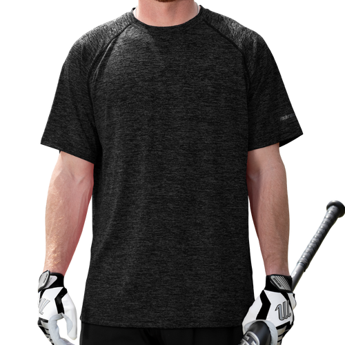Heathered Performance Tee