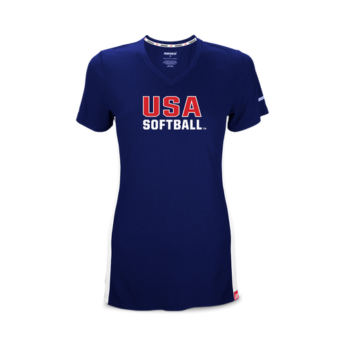 USA Softball Performance V-Neck