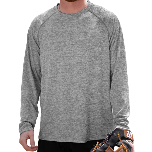 Heathered Long Sleeve Performance Tee