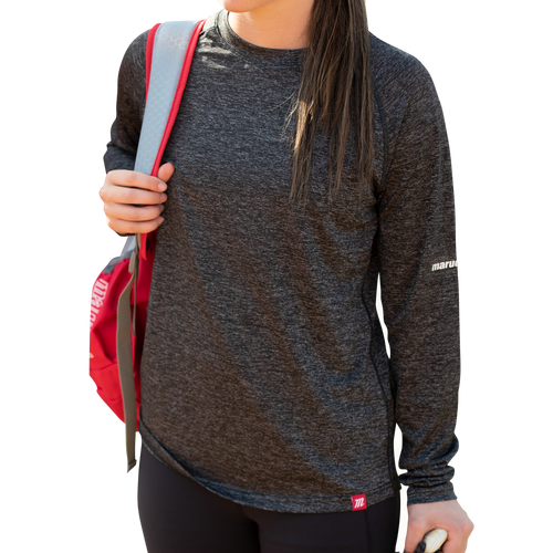 Women's Heathered Long Sleeve Performance Tee