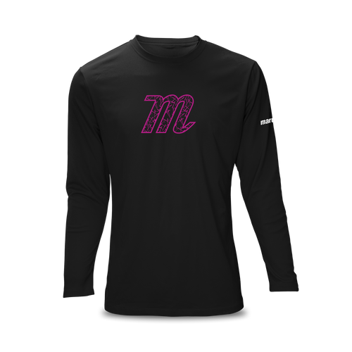 Custom Relaxed Long Sleeve Performance Tee