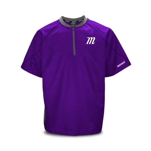 'M Logo' Short Sleeve Batting Practice Jersey