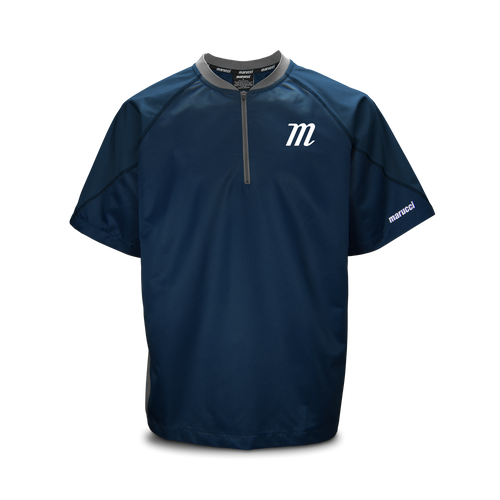 Youth 'M Logo' Short Sleeve Batting Practice Jersey