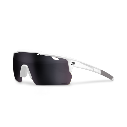 Shield Performance Sunglasses - Matte White