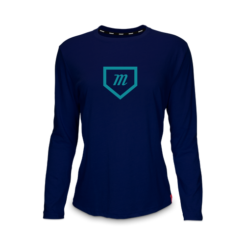 Custom Women's Long Sleeve Tri-Blend Tee