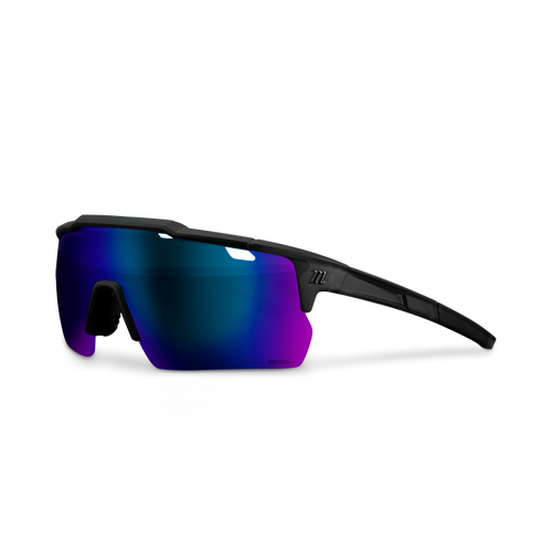 Youth Shield Performance Sunglasses - Matte Black