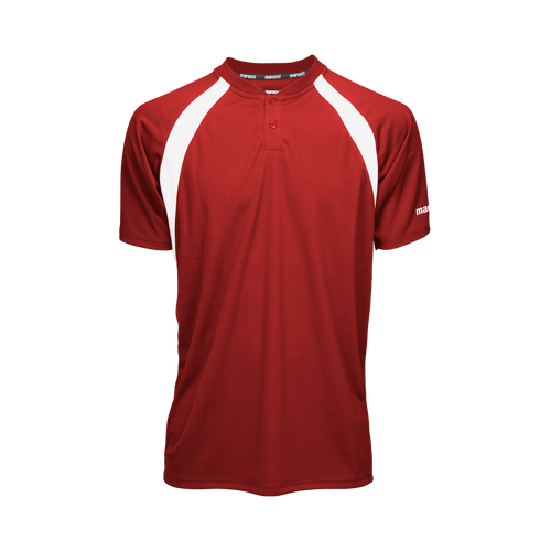 The team that looks their best plays their best. The Two-Button jersey offers a classic look with a modern design perfect for games or practice.