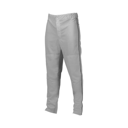 Piped Double-Knit Pants