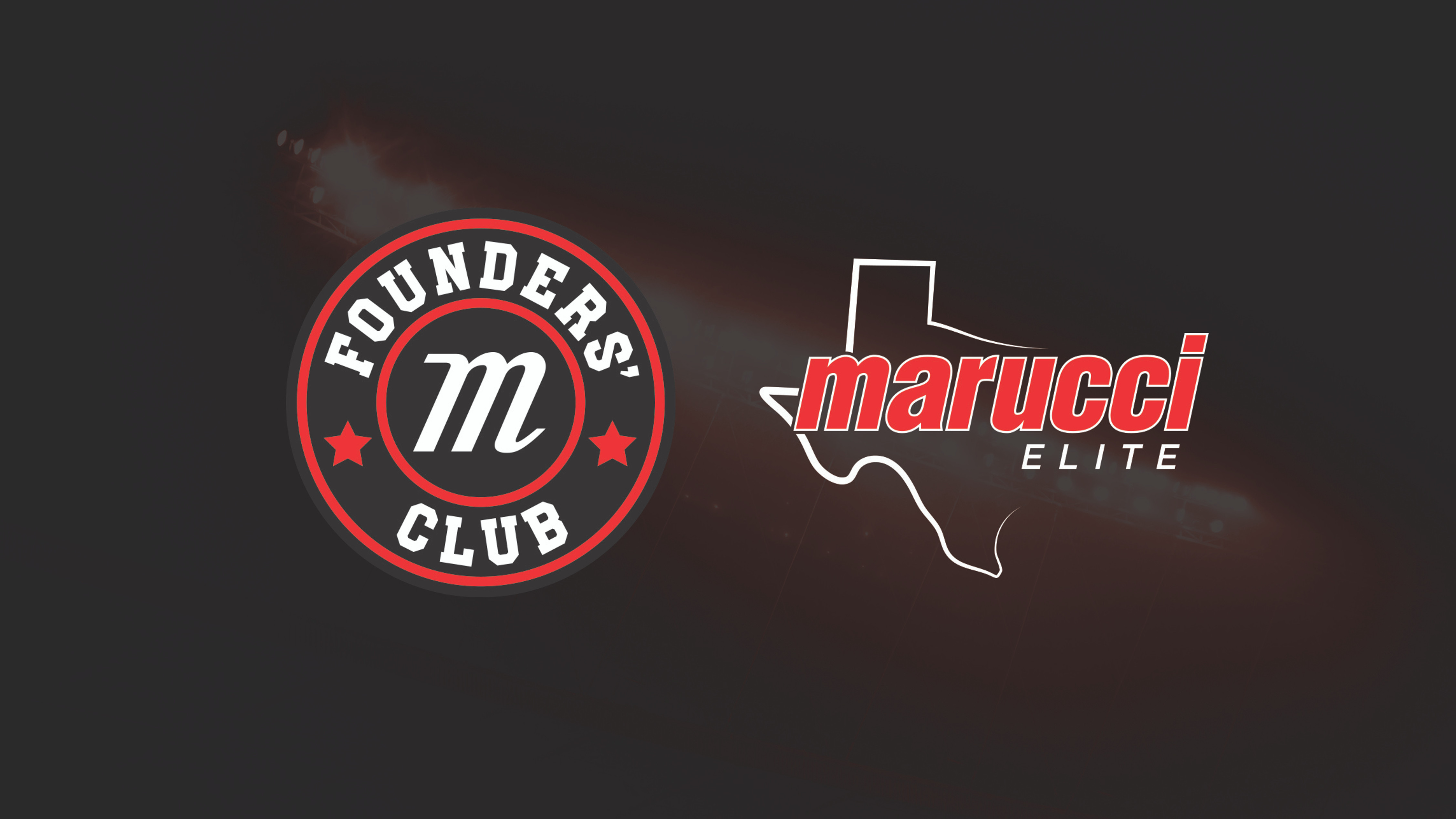 MARUCCI ELITE TX AND FOUNDERS' CLUB EXTEND PARTNERSHIP