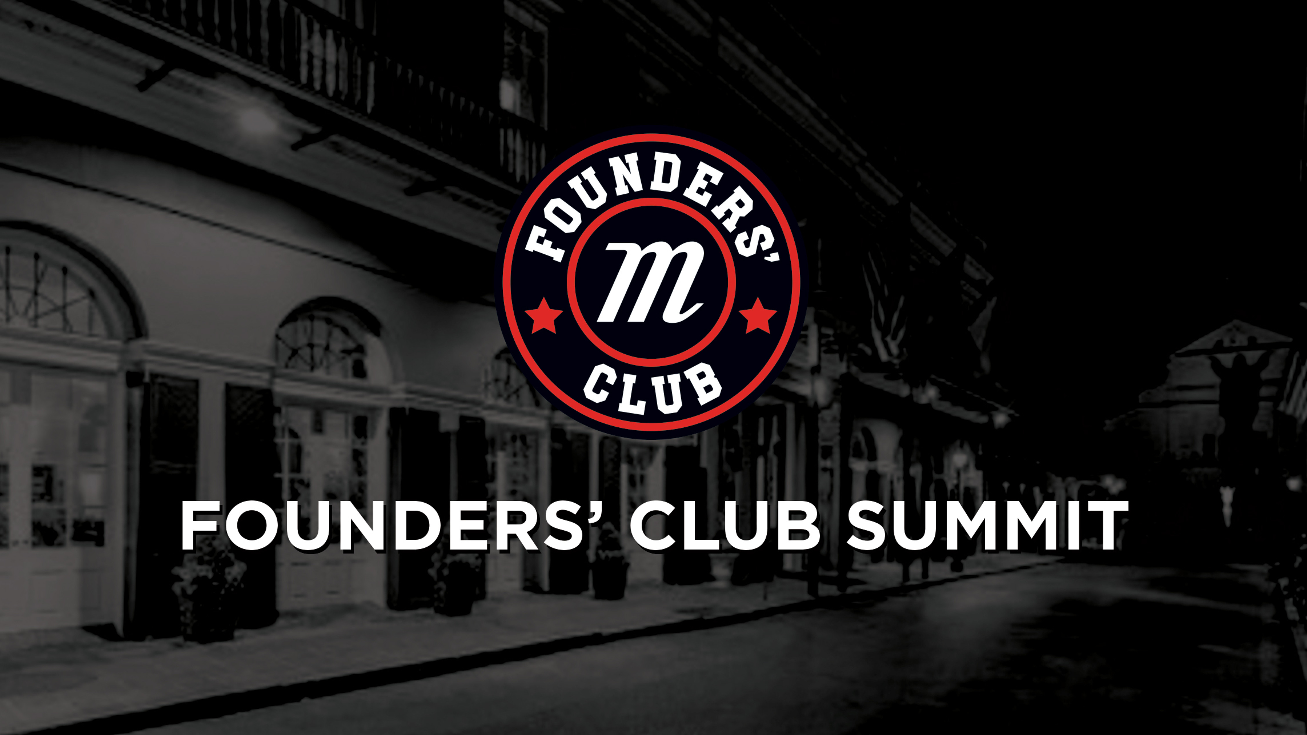 Marucci to host 2019 Founders' Club Summit Meeting Tuesday and Wednesday