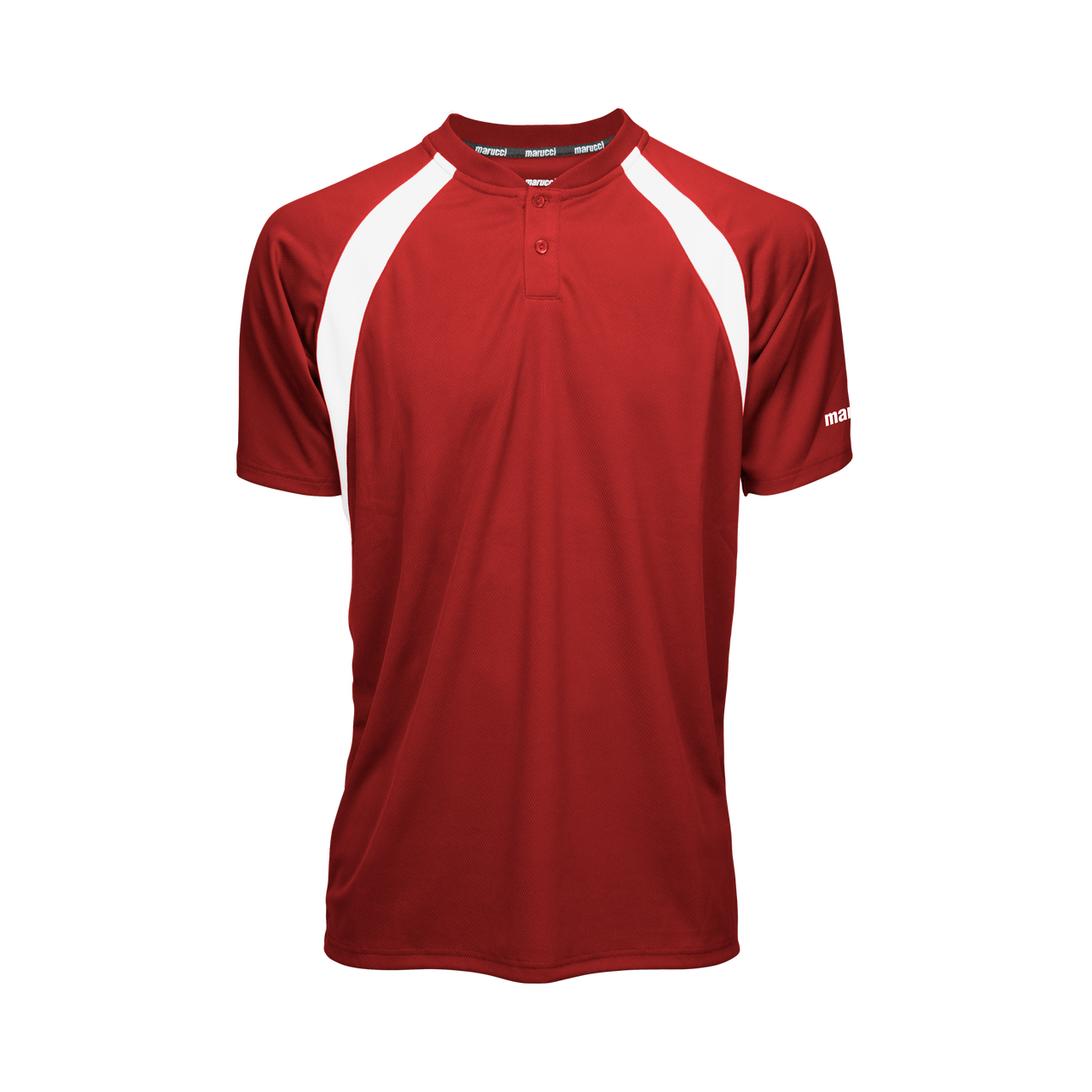 Marucci Two Button Jersey Red X-Large