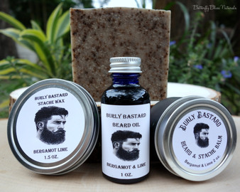 Burly Bastard Beard & 'Stache Oil