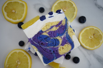 Blueberry Lemon Handcrafted Soap