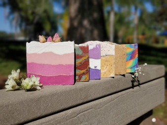 Juicy Orange & Sweet Rose Artisan Soap