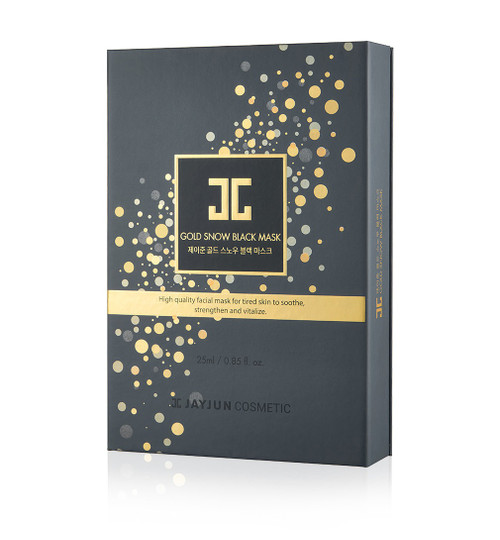 JAYJUN GOLD SNOW BLACK MASK 25ML