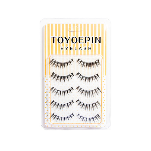 Toyoepin Eyelashes 5 Pairs 901